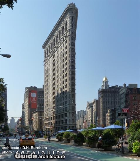Architecture à/in NEW YORK City (ARCHIGUIDE) Area