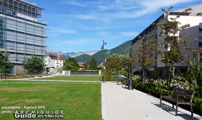 Architecture in annecy archiguide for Agence aps paysage