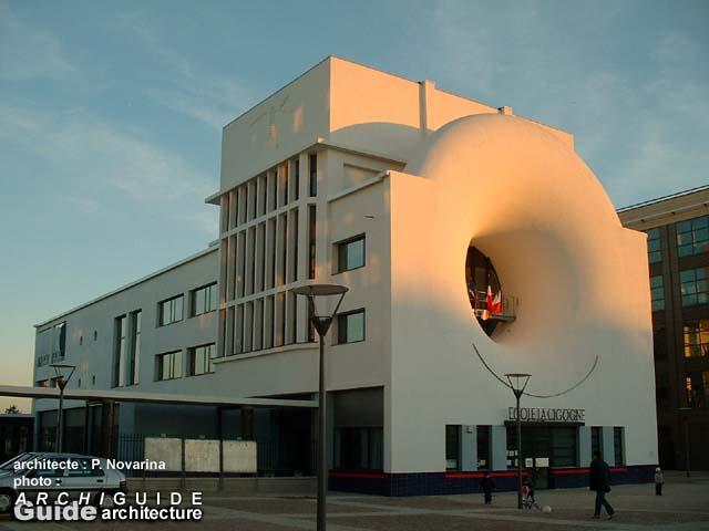 architecture nordouest (rgion parisienne, Ile de France  ~ Auto Ecole Bois Colombes