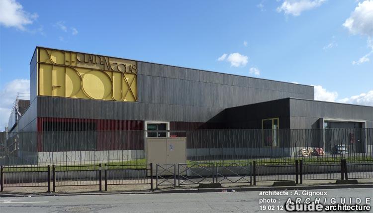 Alain Gignoux (ARCHIGUIDE) ~ Lycee Claude Nicolas Ledoux Pavillon Sous Bois