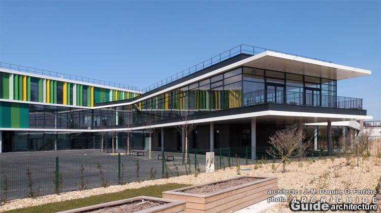 JeanMichel Daquin, Olivier Ferrire (ARCHIGUIDE) ~ Ecole Monceau Pavillons Sous Bois