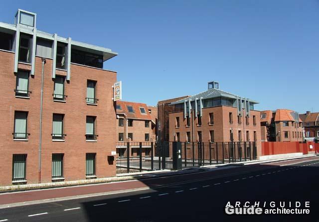 Foyer Grand Rue Roubaix : Trace architectes archiguide
