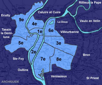 Infos sur : plan arrondissement lyon   Arts et Voyages