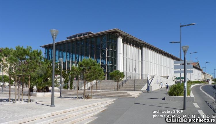Architecture in marseille archiguide area - Distance gare saint charles port marseille ...