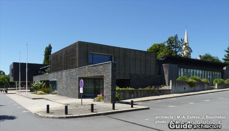 Jacques boucheton archiguide - Bureau de poste la chapelle sur erdre ...