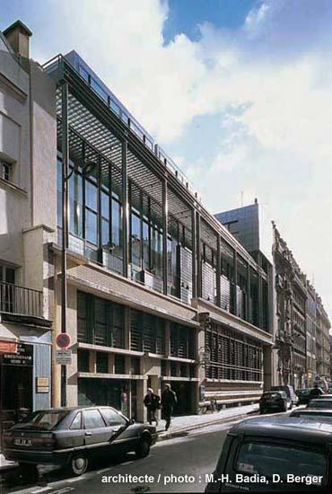 Architecture paris 4e archiguide - Bureau de poste paris 12 ...