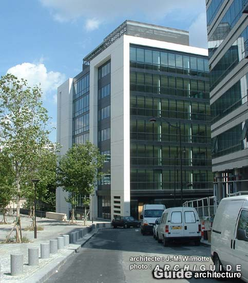 Jean michel wilmotte archiguide for Bureau de change paris 13 avenue d ivry