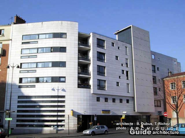 Architecture paris 13e archiguide for Bureau de poste 13 rue d anjou