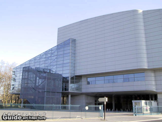 Photos palais des congrs reims archiguide for Horaire de piscine reims