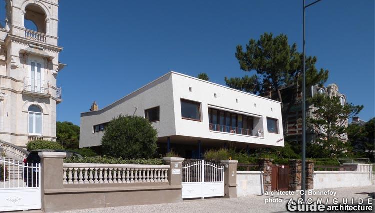 Architecture in royan archiguide for Royan la maison blanche