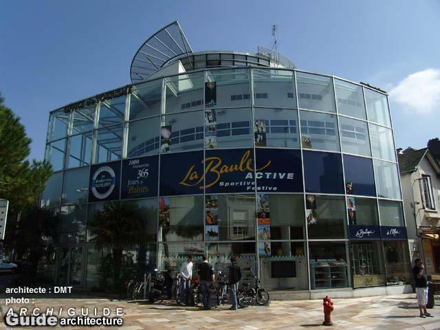 Dmt architectes g durand p p m nard g m n trier g thibault archiguide - Office du tourisme la baule escoublac ...