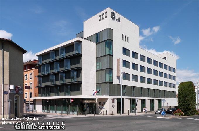 Architecture in villefranche sur saone archiguide - Office du tourisme villefranche sur saone ...