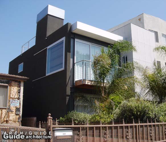 Architecture in los angeles archiguide chronology - Limposante residence contemporaine de ehrlich architects ...
