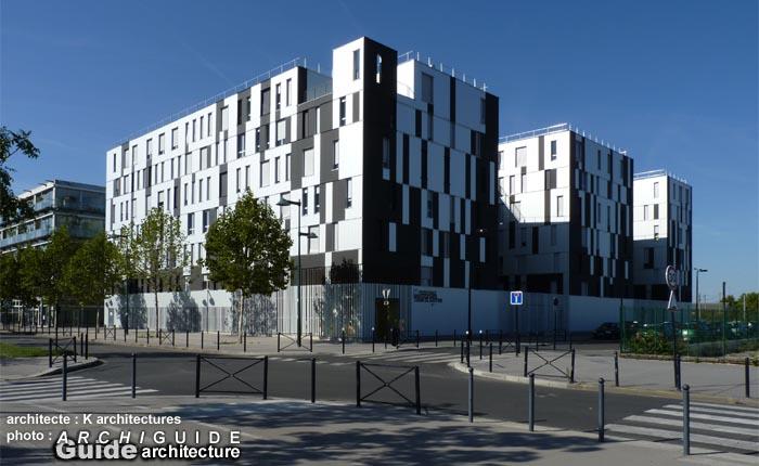 Architecture in bordeaux archiguide - Residence les jardins de bordeaux bastide ...