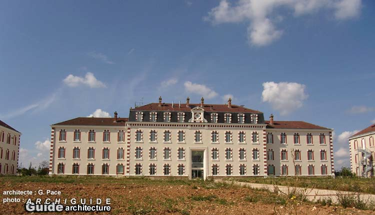 Architecture in epernay archiguide - Maison jardin senior living community reims ...