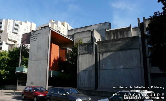 Architecture in grenoble archiguide for Architecte grenoble