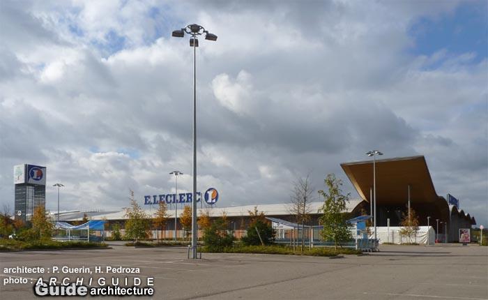 Architecture nord ouest rgion parisienne ile de france archiguide Leclerc drive vitry sur seine