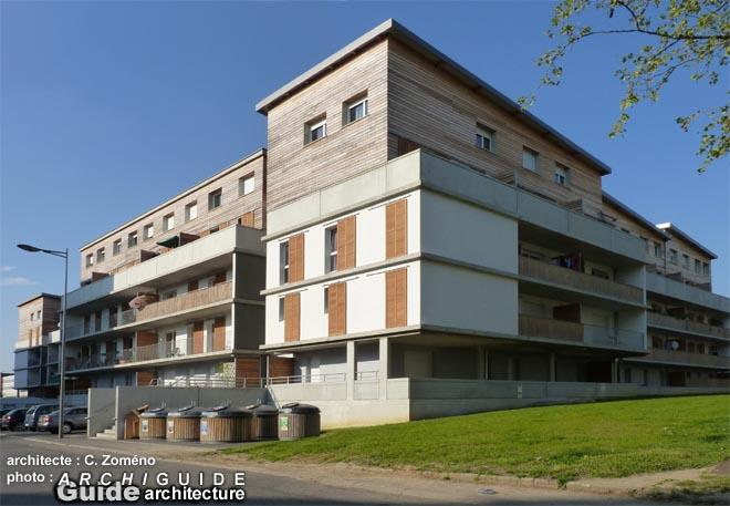 Architecture in nancy archiguide - Residence les jardins de la haye nancy ...