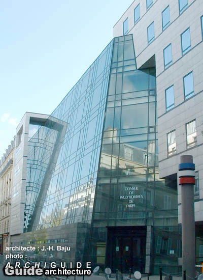 Architecture paris 10e archiguide - Bureau de conciliation prud hommes ...