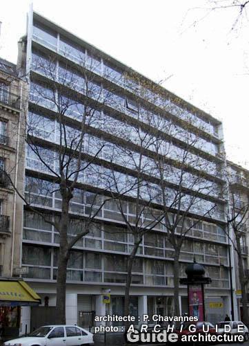 Architecture paris 12e archiguide - Bureau de poste vincennes ...