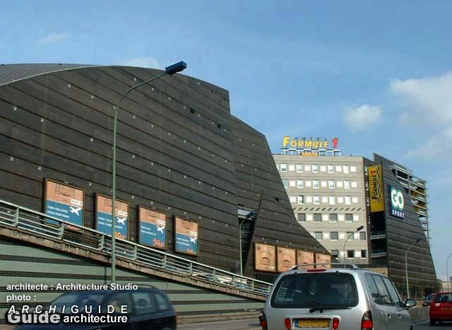 Architecture studio archiguide - Institut national du judo porte de chatillon ...