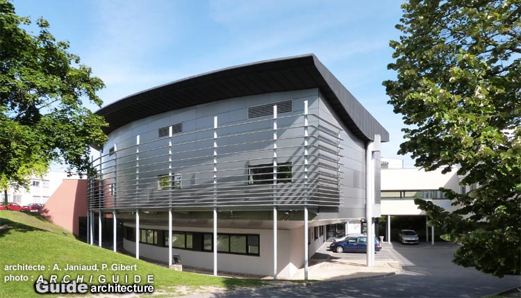 Philippe gibert archiguide - Maison jardin senior living community reims ...