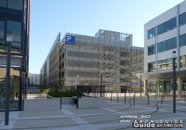 Agence des gares arep archiguide for Agence paysage reims