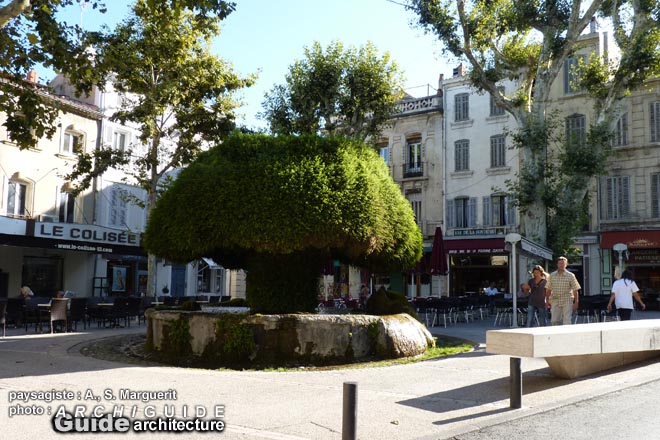 Paysages centre ville salon de provence - Mairie de salon de provence recrutement ...