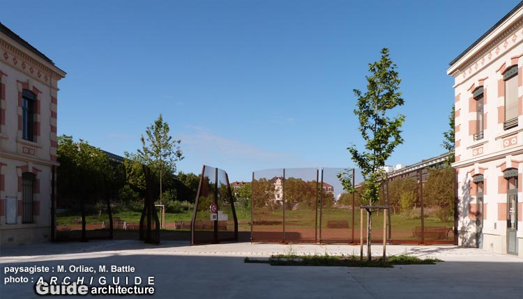 Architecture in toulouse archiguide for Jardin niel toulouse