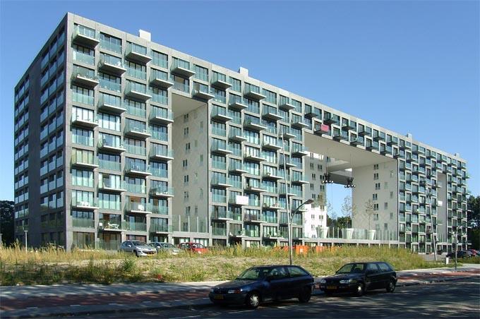 Photos logements parkrand archiguide for Retour amsterdam